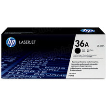 HP 36A (CB436A) Black Original Toner Cartridge in Retail Packaging