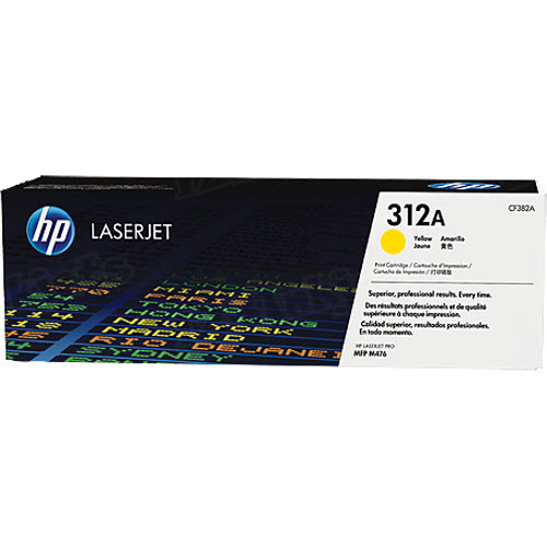 Original HP CF382A (312A) Yellow Toner