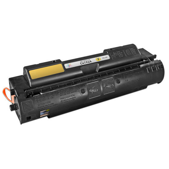 Remanufactured Replacement Yellow Laser Toner for HP 640A