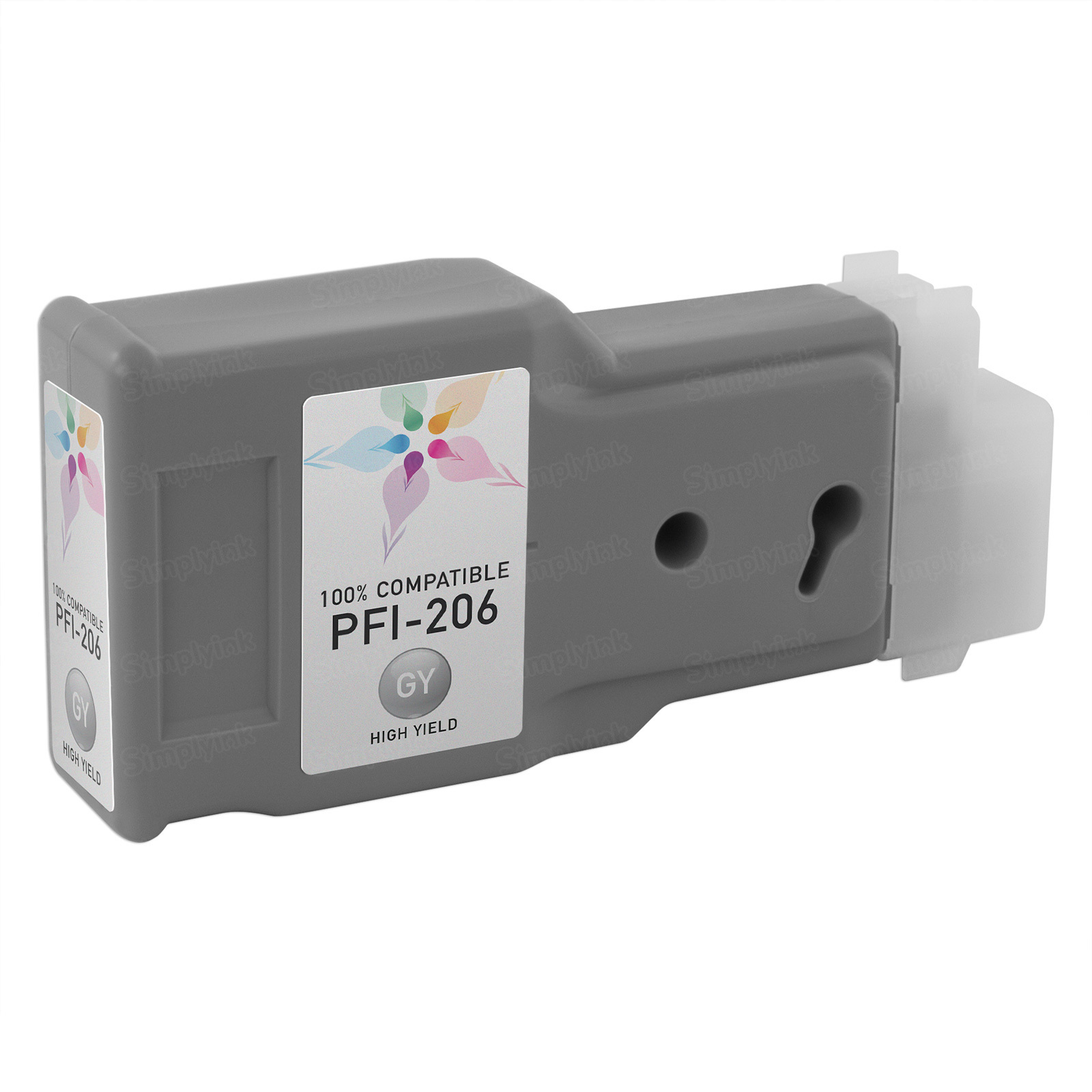 Canon Compatible PFI-206GY Gray Ink