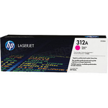 HP 312A (CF383A) Magenta Original Toner Cartridge in Retail Packaging