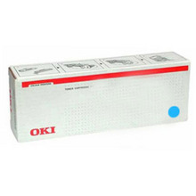 Okidata OEM Cyan 45536423 Toner Cartridge 24K Page Yield