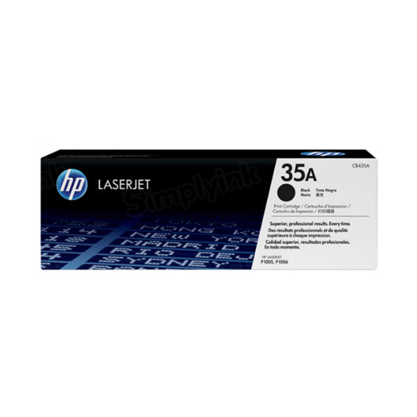 Original HP CB435A (35A) Black Toner