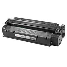 Remanufactured Replacement for HP C7115X (15X) High-Yield Black Laser Toner Cartridge