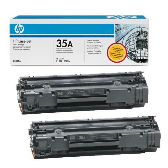 Original HP CB435AD (35A) Black Toner
