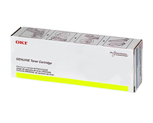 Okidata OEM Yellow 45643505 Toner Cartridge 28,000 Page Yield