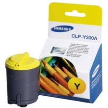 OEM Samsung CLP-Y300A Yellow Laser Toner Cartridge 1K Page Yield