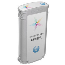 Remanufactured Replacement Ink Cartridge for Hewlett Packard C9452A (HP 70) Cyan