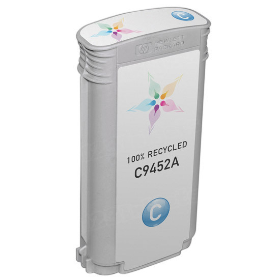 Remanufactured Replacement Cyan Ink for HP 70