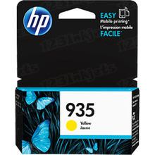 Original HP 935 Yellow Ink Cartridge in Retail Packaging (C2P22AN)