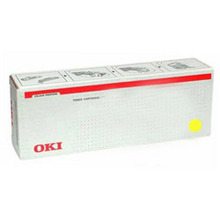 Okidata OEM Yellow 45536421 Toner Cartridge 24K Page Yield