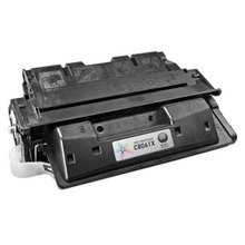 Remanufactured Replacement for HP C8061X (61X) High-Yield Black Laser Toner Cartridge