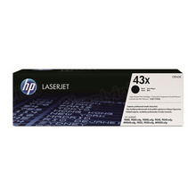 HP 43X (C8543X) Black High Yield Original Toner Cartridge in Retail Packaging