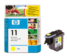 Original HP 11 Yellow Printhead in Retail Packaging (C4813A)