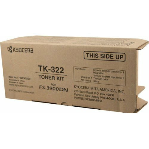 OEM Kyocera-Mita TK-322 Black Toner Cartridge