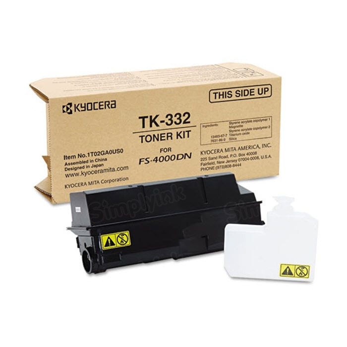 OEM Kyocera-Mita TK-332 Black Toner Cartridge