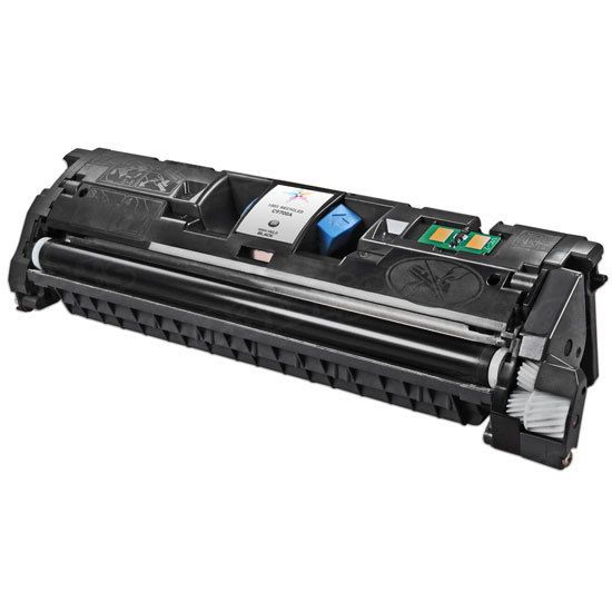 Remanufactured Replacement Black Laser Toner for HP 121A
