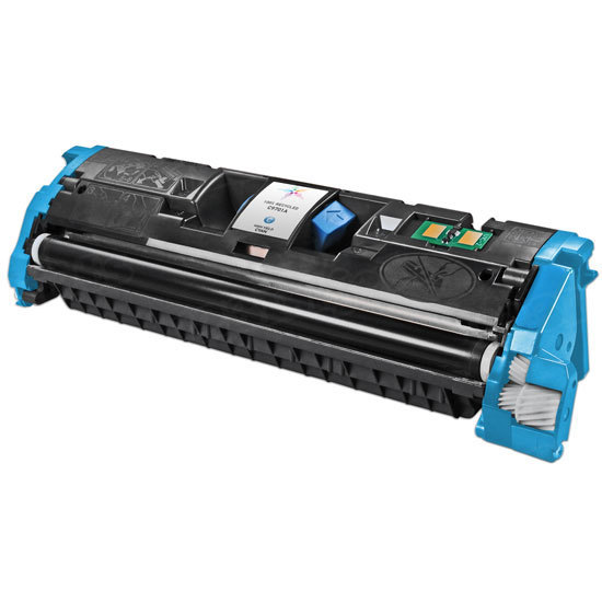 Remanufactured Replacement Cyan Laser Toner for HP 121A