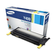 OEM Samsung CLT-Y409S Yellow Laser Toner Cartridge 1K Page Yield
