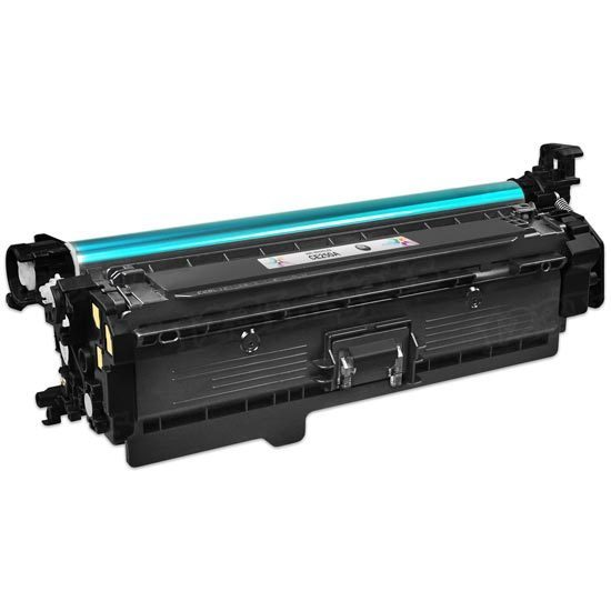 Remanufactured Replacement Black Laser Toner for HP 504A