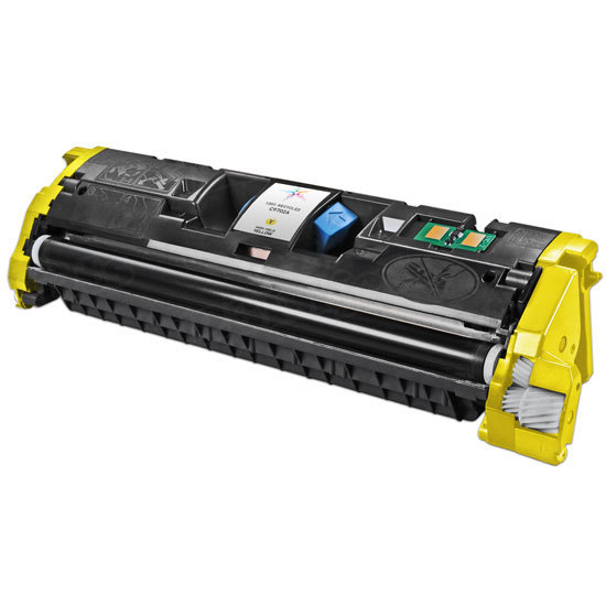 Remanufactured Replacement Yellow Laser Toner for HP 121A