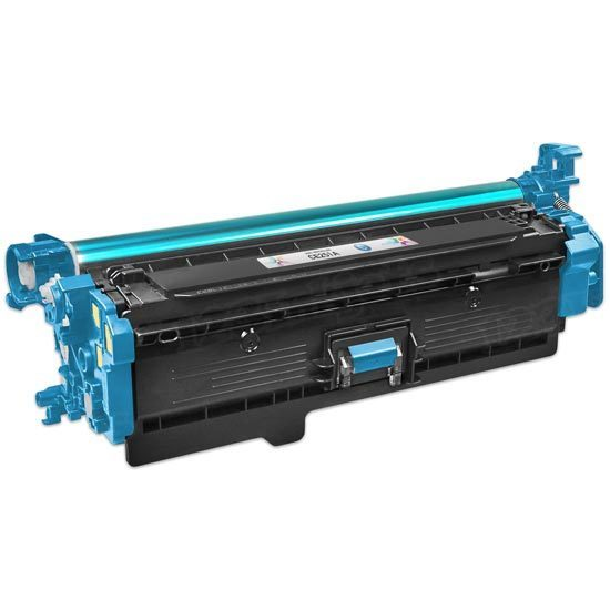 Remanufactured Replacement Cyan Laser Toner for HP 504A