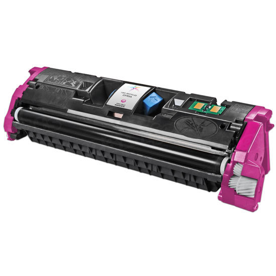 Remanufactured Replacement Magenta Laser Toner for HP 121A