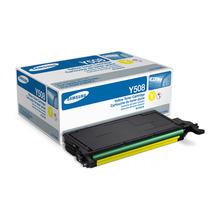 OEM Samsung CLT-Y508S Yellow Laser Toner Cartridge 2K Page Yield