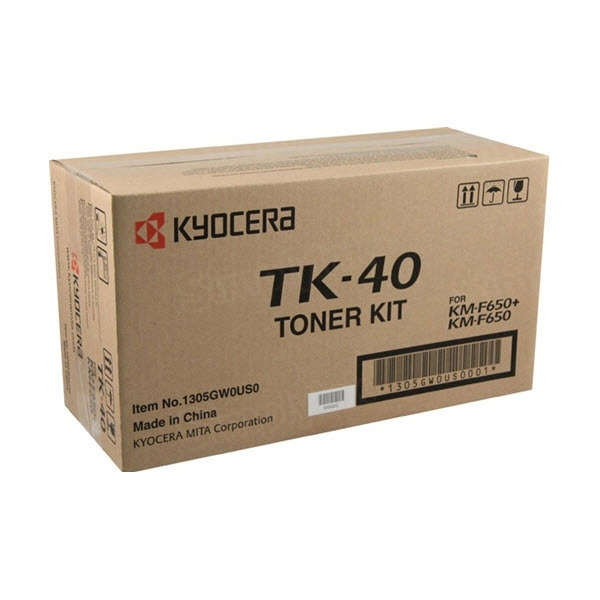 OEM Kyocera-Mita TK-40 Black Toner Cartridge