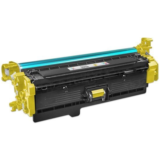 Remanufactured Replacement Yellow Laser Toner for HP 504A