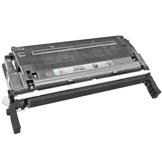 Remanufactured Replacement Black Laser Toner for HP 641A