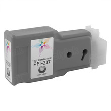 Canon (PFI-207BK) Black Compatible Ink Cartridge, 8789B001