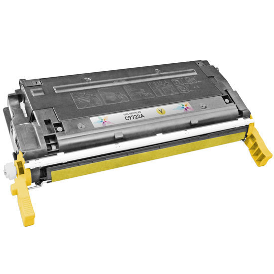Remanufactured Replacement Yellow Laser Toner for HP 641A