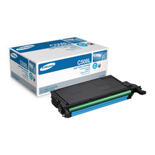 OEM Samsung CLT-C508L High Yield Cyan Laser Toner Cartridge 4K Page Yield