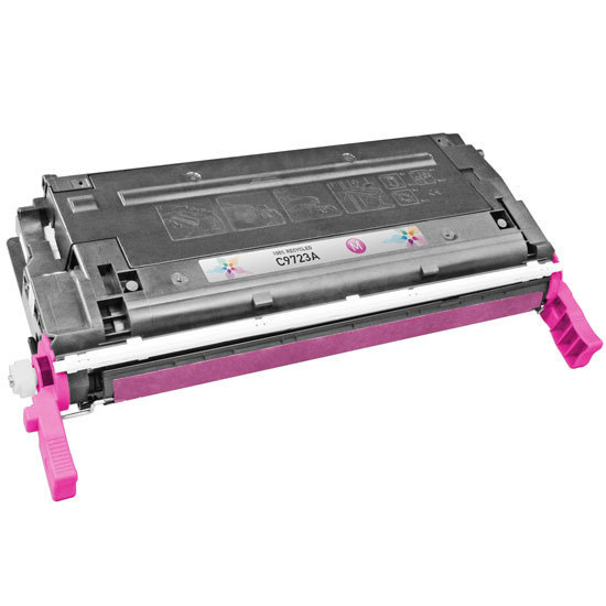 Remanufactured Replacement Magenta Laser Toner for HP 641A