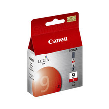 Canon PGI-9R Red OEM Ink Cartridge, 1040B002