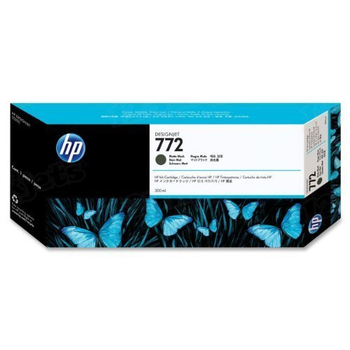 HP 772 Matte Black Original Ink Cartridge CN635A