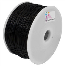 Black 3D Printer Filament 1.75mm 1kg Nylon