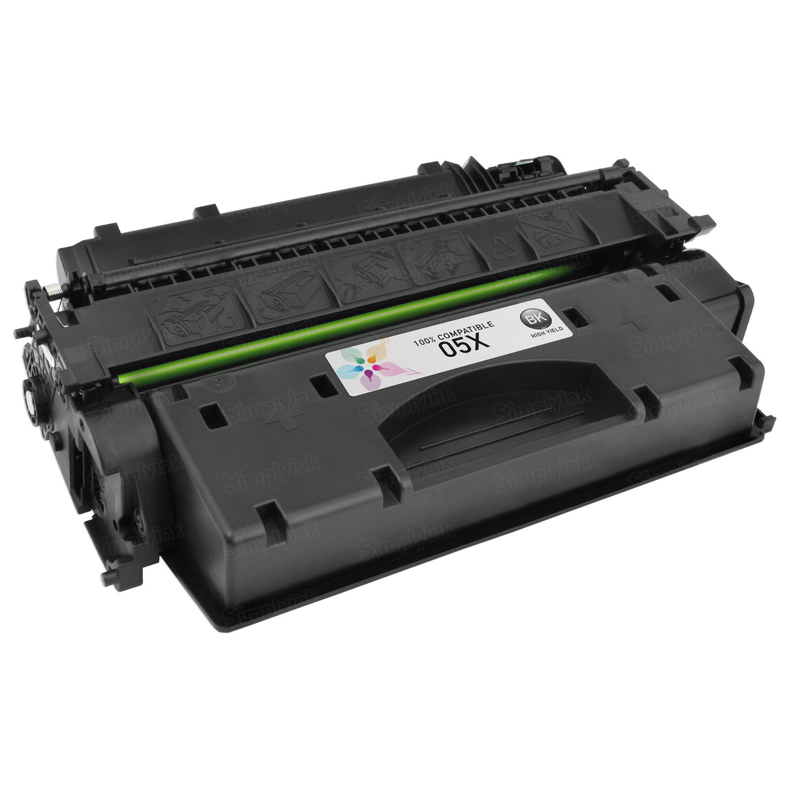 Compatible Brand Black Laser Toner for HP 05X