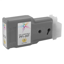 Canon (PFI-207Y) Yellow Compatible Ink Cartridge, 8792B001