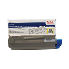 Okidata OEM Yellow 44315301 Toner Cartridge 6K Page Yield