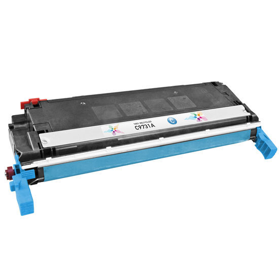 Remanufactured Replacement Cyan Laser Toner for HP 645A