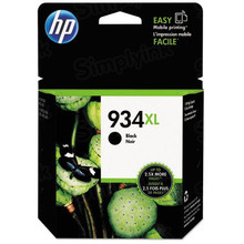 Original HP 934XL Black Ink Cartridge in Retail Packaging (C2P23AN) High-Yield