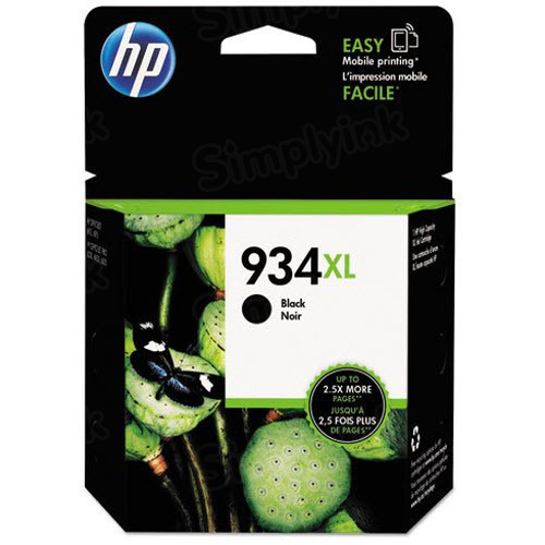 HP 934XL Black Original Ink Cartridge C2P23AN