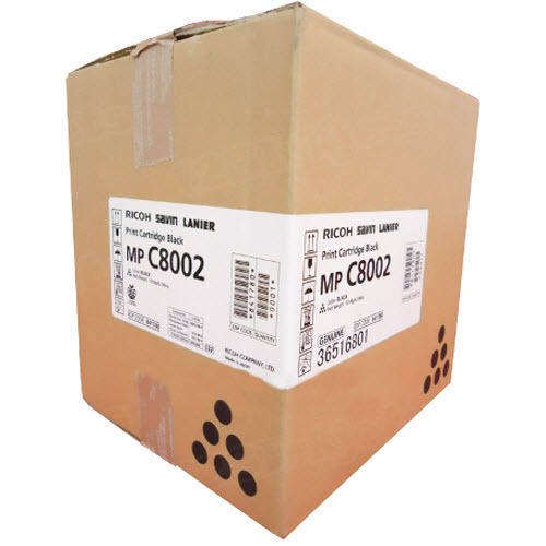 OEM Ricoh 841780 Black Toner Cartridge