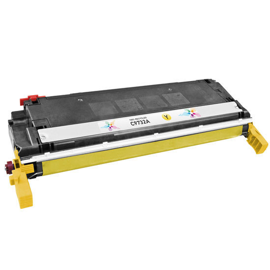 Remanufactured Replacement Yellow Laser Toner for HP 645A
