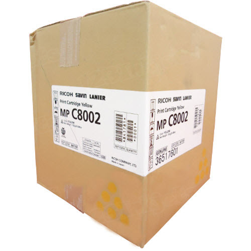 OEM Ricoh 841781 Yellow Toner Cartridge