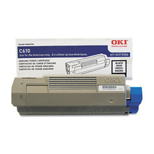 Okidata OEM Black 44315304 Toner Cartridge 8K Page Yield