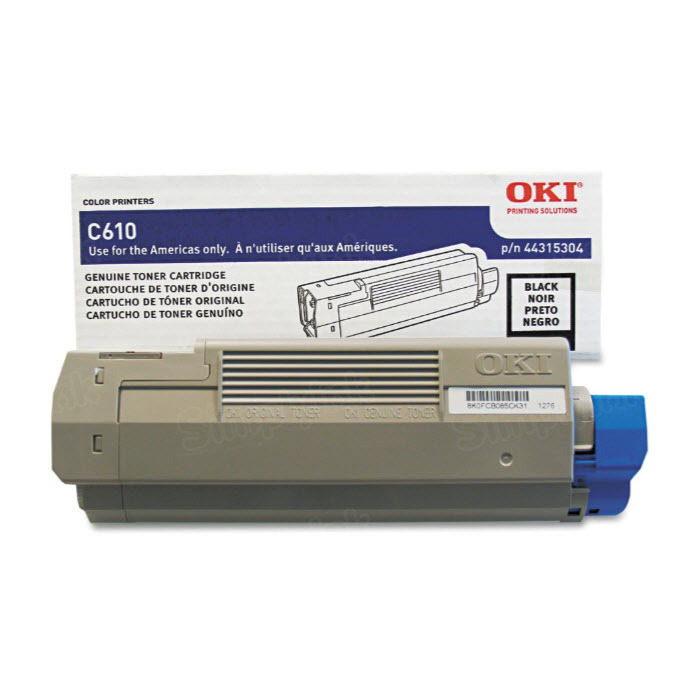 OEM Okidata 44315304 Black Toner Cartridge