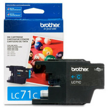 Brother LC71C Cyan OEM Ink Cartridge